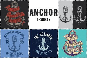 Anchor Collection Of T-shirt Designs