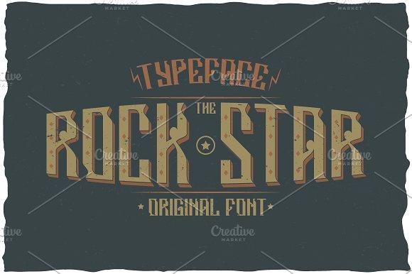 Rockstar Label Typeface