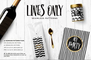 Handdrawn Lines Patterns