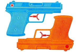 Water Gun / Water Pistol