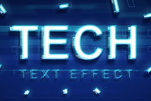 TECHNOLOGY TEXT EFFECT
