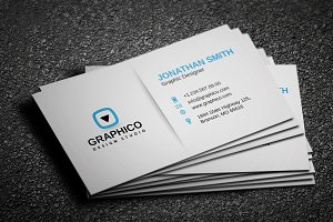 Stylish Corporate Business Card 4