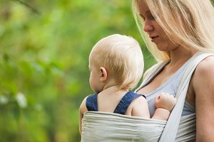 Baby in sling