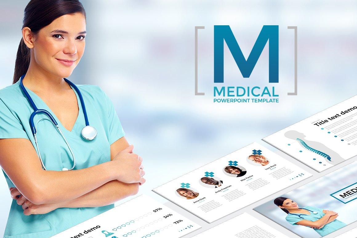 Medical powerpoint template presentation templates creative market toneelgroepblik Choice Image