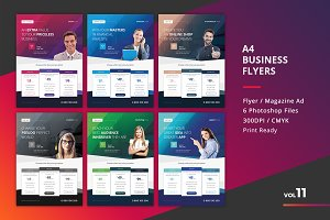 Corporate Flyer Templates 6PSD - #11