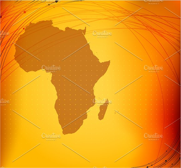 Africa Map Background.Africa Map Illustrations Creative Market