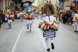 Carnival of Verin, Spain