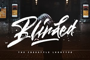 Blinded - Freestyle Logotype 25% OFF