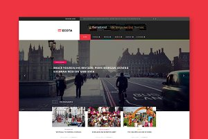 Ecota - Magazine WordPress Theme