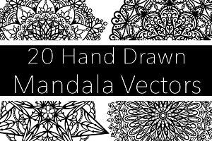20 Mandala Vectors