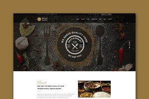 Restaurant - HTML Template