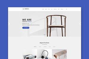 Mindelo Minimal WordPress Theme
