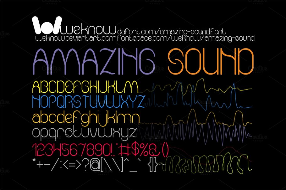 airwave ~ Display Fonts ~ Creative Market