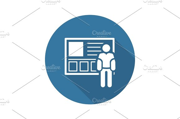 Consulting Service Icon Business Concept