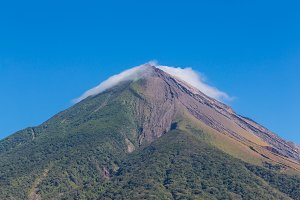 volcano view from Nicaragua
