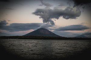 Concepcion volcano from Nicaragua
