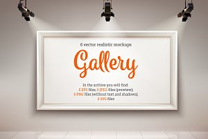 Gallery Realistic Set