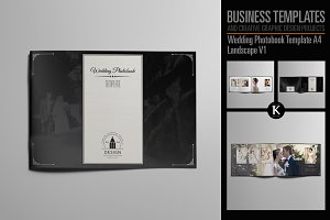 Wedding Photobook Template A4 v1