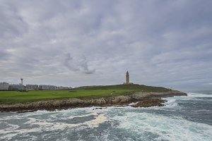 Coast of Hercules Tower .