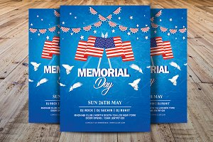 Memorial Day Flyer / Independence