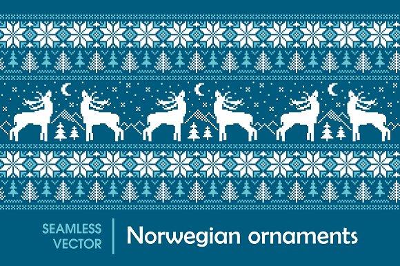 Norwegian ornaments