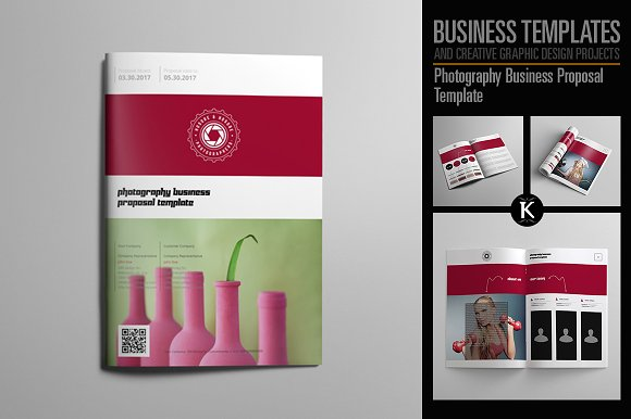 Photography business proposal templates creative market cheaphphosting Choice Image