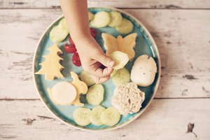 Creative idea for child food