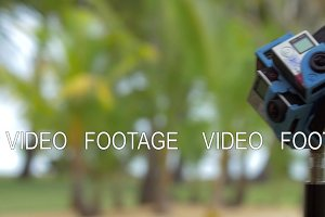360 degrees video with six GoPro cameras