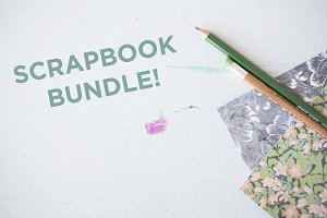 BUNDLE - 3 Scrapbook Images