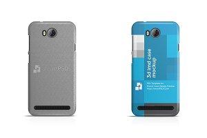 Huawei Y3 II G750 Cover Case Mockup