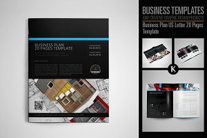 Business Plan US Letter 20 Pages
