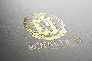 Royal Lion Flag Logo