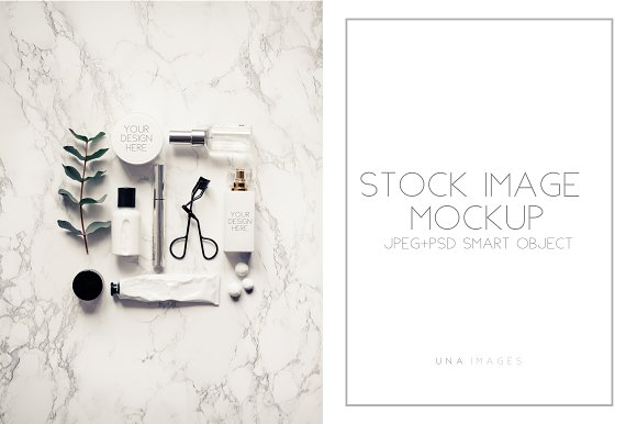 Mockup With 2 Smart Objects.Fashion