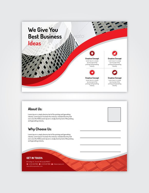 Post Card 12 in Card Templates - product preview 3