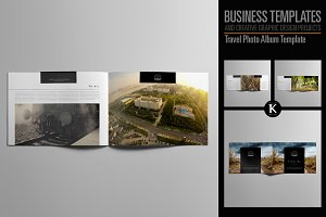 Travel Photo Album Template
