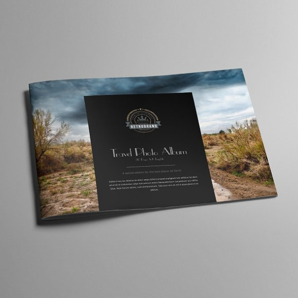Travel photo album template templates creative market toneelgroepblik Gallery
