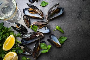 Mussels seafood