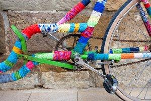 Knitting on bike.jpg