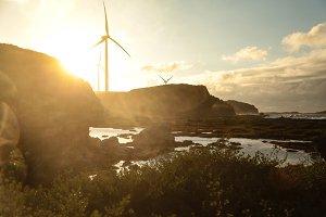 Windmills on the Coast
