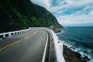Beautiful Coastal Road 1