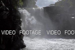 Waterfall on Mauritius Island