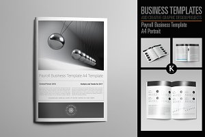 Payroll Business Template A4