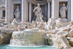Fontana Trevi, Rome.