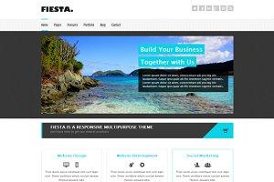 Fiesta - Responsive HTML5 Template