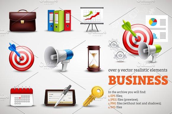 Business Realistic Set