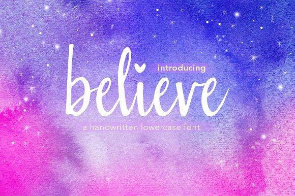 Believe Font