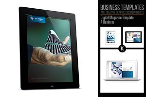 Digital Magazine Template 4 Business