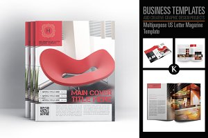 Multipurpose US Letter Magazine