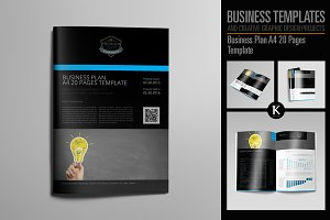 Business Plan A4 20 Pages Template
