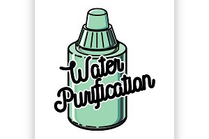 water purification emblem